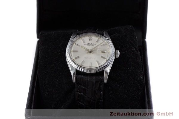 Used luxury watch Rolex Datejust steel automatic Kal. 1570 Ref. 1603  | 152999 07