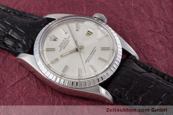Used luxury watch Rolex Datejust steel automatic Kal. 1570 Ref. 1603  | 152999 15