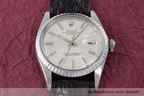 Used luxury watch Rolex Datejust steel automatic Kal. 1570 Ref. 1603  | 152999 16