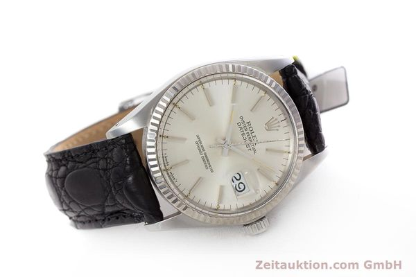 Used luxury watch Rolex Datejust steel / white gold automatic Kal. 3035 Ref. 16014  | 153000 03