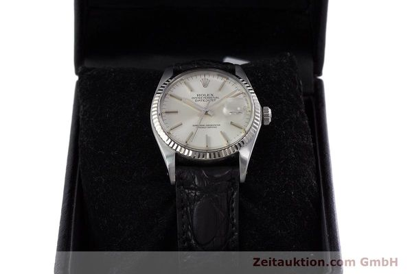Used luxury watch Rolex Datejust steel / white gold automatic Kal. 3035 Ref. 16014  | 153000 07