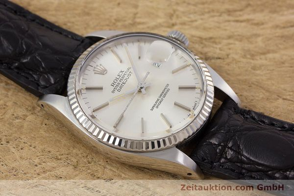 Used luxury watch Rolex Datejust steel / white gold automatic Kal. 3035 Ref. 16014  | 153000 14