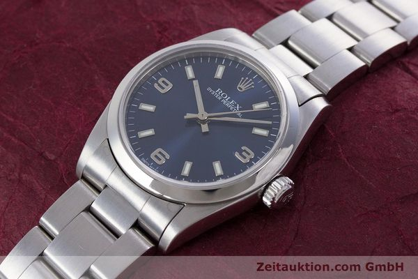 Used luxury watch Rolex Oyster Perpetual steel automatic Kal. 2230 Ref. 77080  | 153005 01