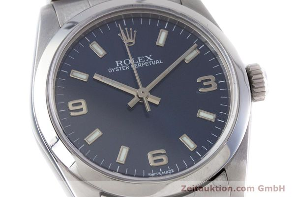 Used luxury watch Rolex Oyster Perpetual steel automatic Kal. 2230 Ref. 77080  | 153005 02
