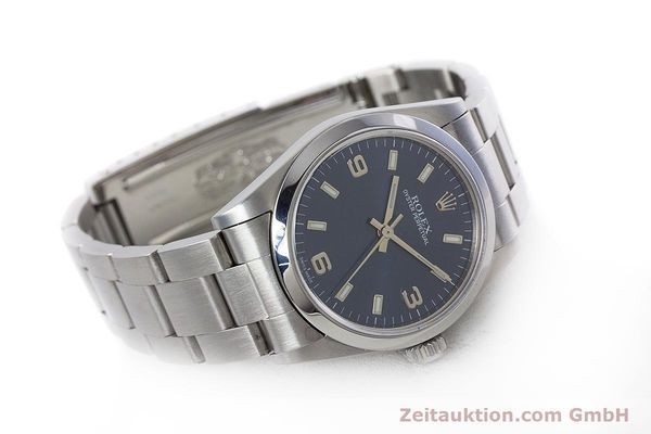 Used luxury watch Rolex Oyster Perpetual steel automatic Kal. 2230 Ref. 77080  | 153005 03