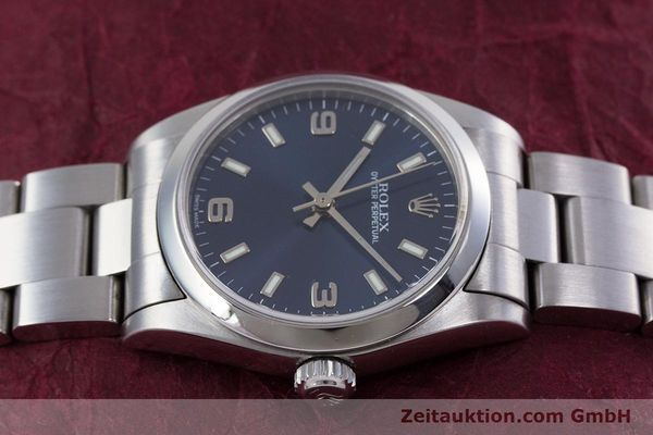 Used luxury watch Rolex Oyster Perpetual steel automatic Kal. 2230 Ref. 77080  | 153005 05