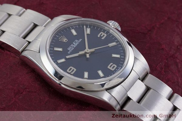 Used luxury watch Rolex Oyster Perpetual steel automatic Kal. 2230 Ref. 77080  | 153005 14
