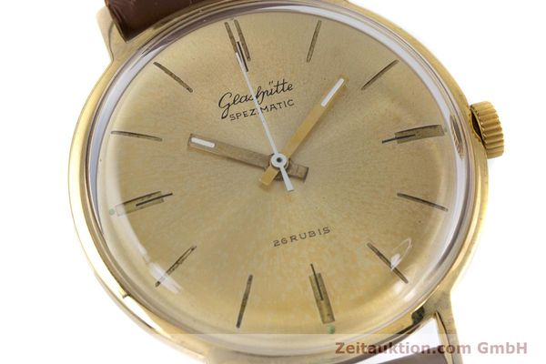 Used luxury watch Glashütte Spezimatic gold-plated automatic Kal. 74 VINTAGE  | 153006 02