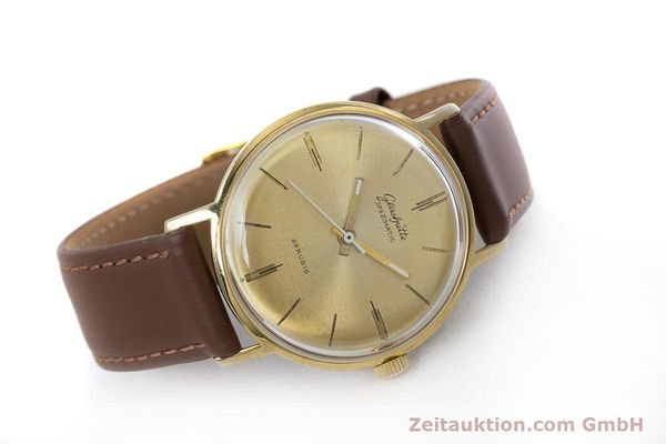 Used luxury watch Glashütte Spezimatic gold-plated automatic Kal. 74 VINTAGE  | 153006 03