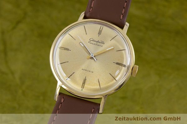 Used luxury watch Glashütte Spezimatic gold-plated automatic Kal. 74 VINTAGE  | 153006 04