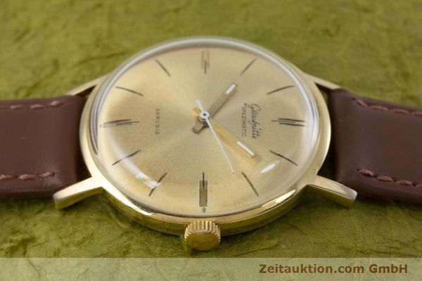 Used luxury watch Glashütte Spezimatic gold-plated automatic Kal. 74 VINTAGE  | 153006 05