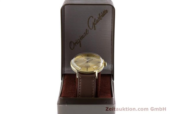 Used luxury watch Glashütte Spezimatic gold-plated automatic Kal. 74 VINTAGE  | 153006 07