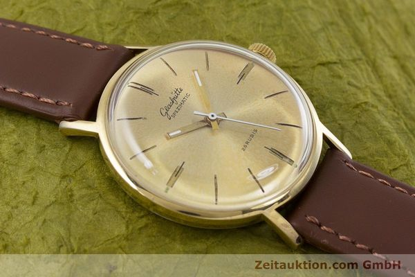 Used luxury watch Glashütte Spezimatic gold-plated automatic Kal. 74 VINTAGE  | 153006 12