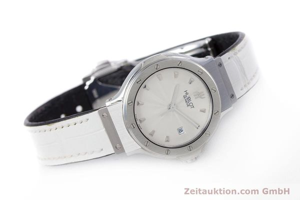 Used luxury watch Hublot Classic steel quartz Kal. ETA 956.112 Ref. 1395.1  | 153013 03