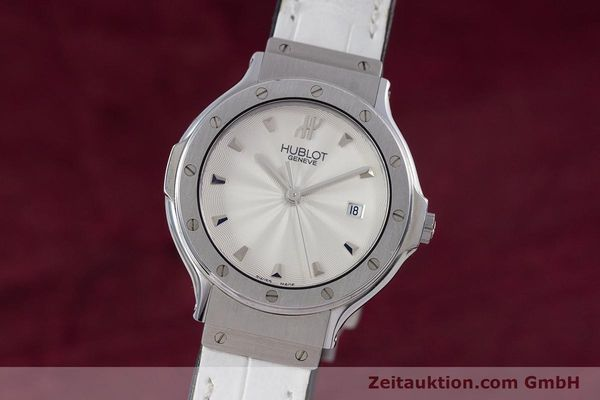 Used luxury watch Hublot Classic steel quartz Kal. ETA 956.112 Ref. 1395.1  | 153013 04
