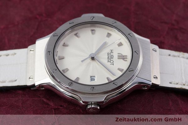 Used luxury watch Hublot Classic steel quartz Kal. ETA 956.112 Ref. 1395.1  | 153013 05