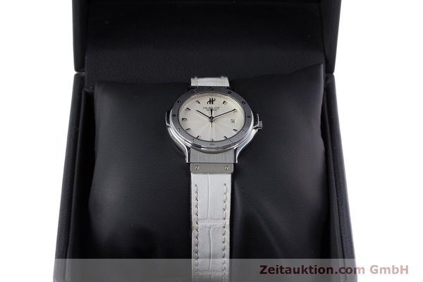 Used luxury watch Hublot Classic steel quartz Kal. ETA 956.112 Ref. 1395.1  | 153013 07