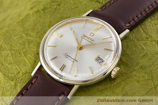 Used luxury watch Omega Seamaster gold-plated automatic Kal. 563 Ref. KM6292 VINTAGE  | 153015 01