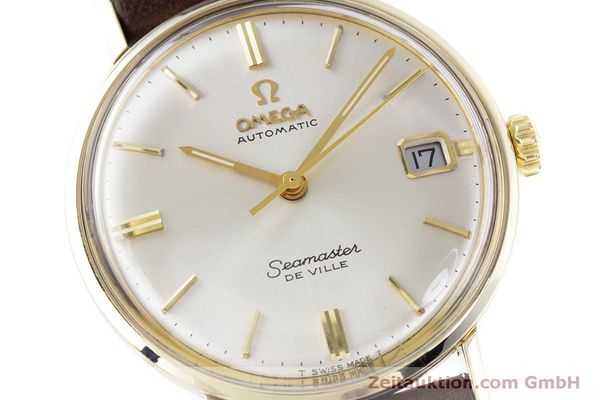 Used luxury watch Omega Seamaster gold-plated automatic Kal. 563 Ref. KM6292 VINTAGE  | 153015 02