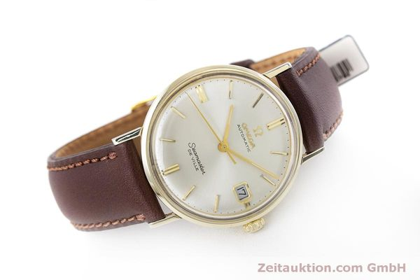 Used luxury watch Omega Seamaster gold-plated automatic Kal. 563 Ref. KM6292 VINTAGE  | 153015 03