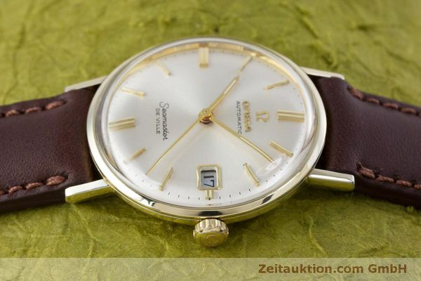 Used luxury watch Omega Seamaster gold-plated automatic Kal. 563 Ref. KM6292 VINTAGE  | 153015 05
