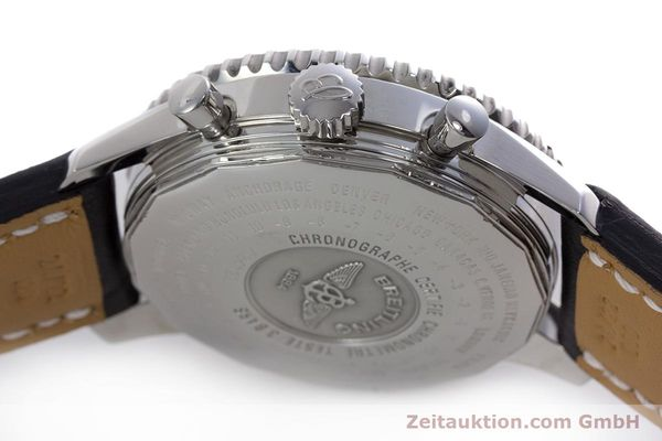 Used luxury watch Breitling Navitimer World chronograph steel automatic Kal. B24 ETA 7754 Ref. A24322  | 153017 08