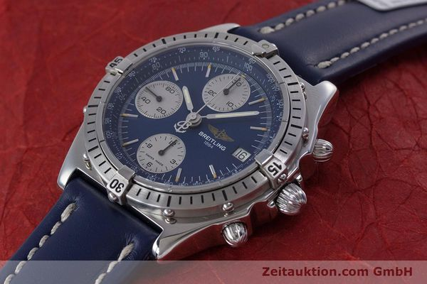 Used luxury watch Breitling Chronomat chronograph steel automatic Kal. B13 ETA 7750 Ref. A13048  | 153018 01