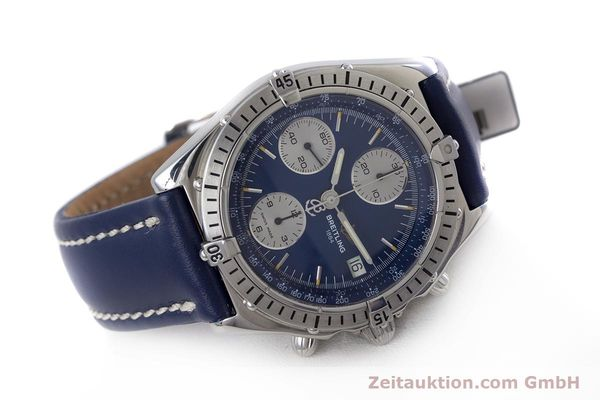 Used luxury watch Breitling Chronomat chronograph steel automatic Kal. B13 ETA 7750 Ref. A13048  | 153018 03