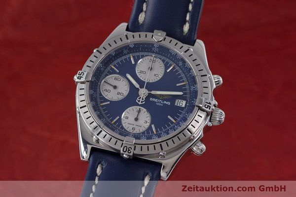 Used luxury watch Breitling Chronomat chronograph steel automatic Kal. B13 ETA 7750 Ref. A13048  | 153018 04