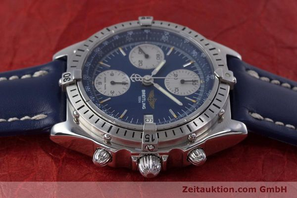 Used luxury watch Breitling Chronomat chronograph steel automatic Kal. B13 ETA 7750 Ref. A13048  | 153018 05