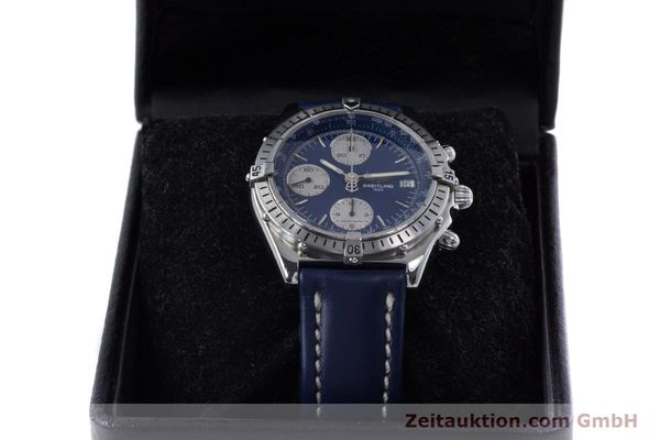 Used luxury watch Breitling Chronomat chronograph steel automatic Kal. B13 ETA 7750 Ref. A13048  | 153018 07