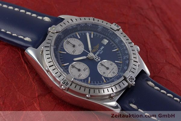 Used luxury watch Breitling Chronomat chronograph steel automatic Kal. B13 ETA 7750 Ref. A13048  | 153018 13