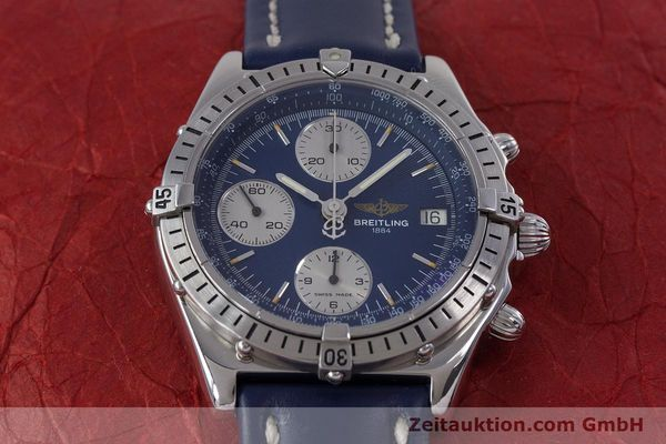 Used luxury watch Breitling Chronomat chronograph steel automatic Kal. B13 ETA 7750 Ref. A13048  | 153018 14