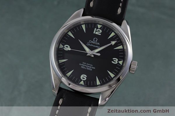 Used luxury watch Omega Railmaster steel automatic Kal. 2403  | 153021 04