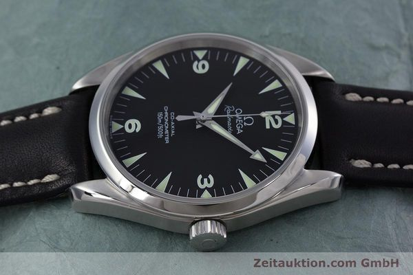 Used luxury watch Omega Railmaster steel automatic Kal. 2403  | 153021 05