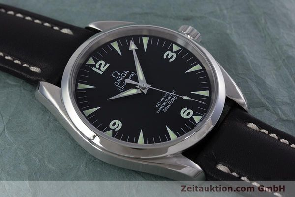 Used luxury watch Omega Railmaster steel automatic Kal. 2403  | 153021 14