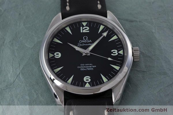 Used luxury watch Omega Railmaster steel automatic Kal. 2403  | 153021 15