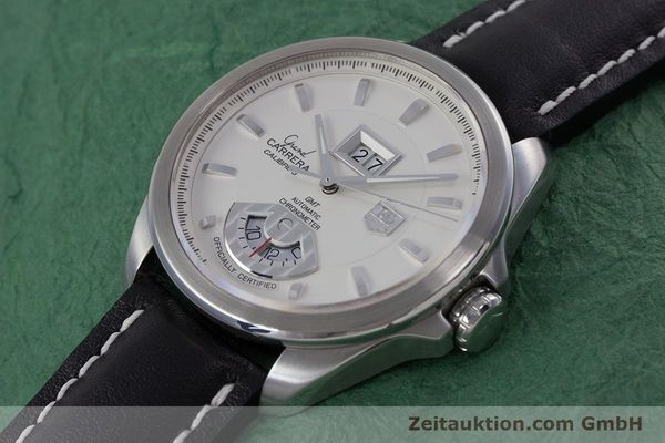 Used luxury watch Tag Heuer Carrera steel automatic Kal. 8 ETA 2892A2 Ref. WAV5112  | 153023 01