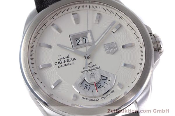 Used luxury watch Tag Heuer Carrera steel automatic Kal. 8 ETA 2892A2 Ref. WAV5112  | 153023 02