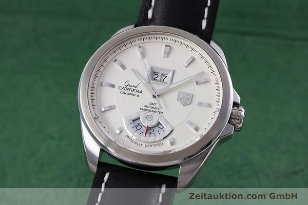 Used luxury watch Tag Heuer Carrera steel automatic Kal. 8 ETA 2892A2 Ref. WAV5112  | 153023 04