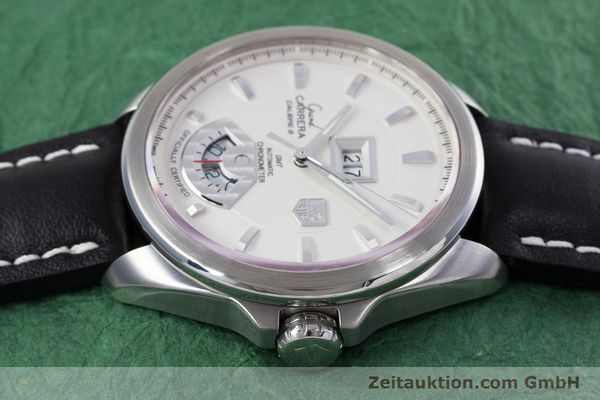 Used luxury watch Tag Heuer Carrera steel automatic Kal. 8 ETA 2892A2 Ref. WAV5112  | 153023 05
