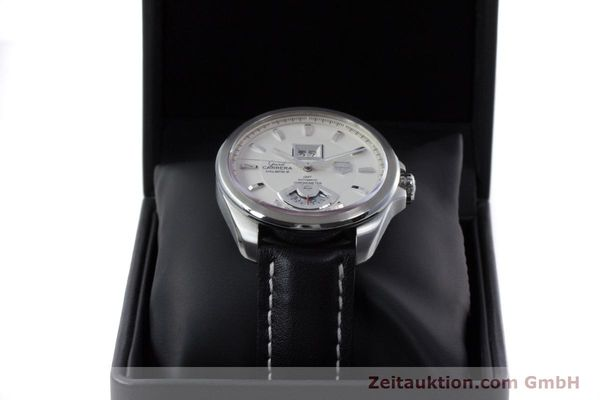 Used luxury watch Tag Heuer Carrera steel automatic Kal. 8 ETA 2892A2 Ref. WAV5112  | 153023 07