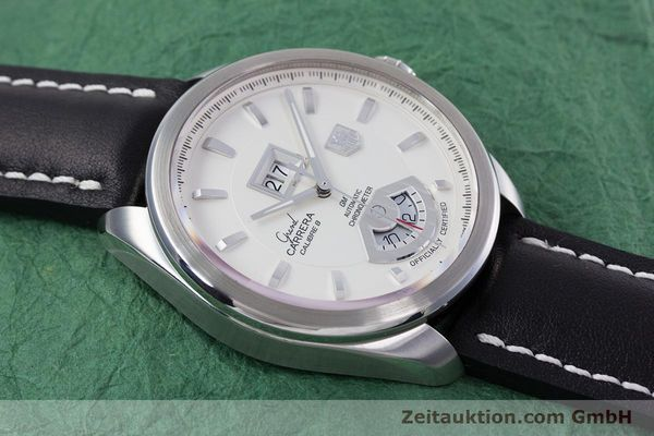 Used luxury watch Tag Heuer Carrera steel automatic Kal. 8 ETA 2892A2 Ref. WAV5112  | 153023 13