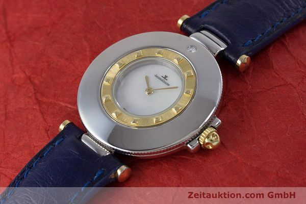 Used luxury watch Jaeger Le Coultre Rendez-Vous  steel / gold quartz Kal. 609 Ref. 421.5.09  | 153031 01