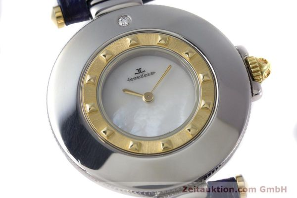 Used luxury watch Jaeger Le Coultre Rendez-Vous  steel / gold quartz Kal. 609 Ref. 421.5.09  | 153031 02