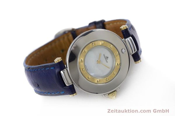 Used luxury watch Jaeger Le Coultre Rendez-Vous  steel / gold quartz Kal. 609 Ref. 421.5.09  | 153031 03