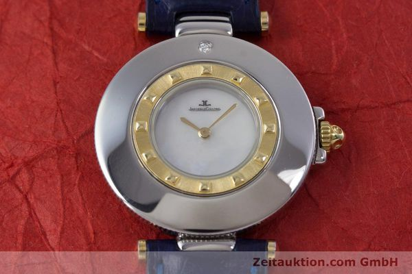 Used luxury watch Jaeger Le Coultre Rendez-Vous  steel / gold quartz Kal. 609 Ref. 421.5.09  | 153031 16