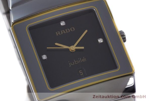 Used luxury watch Rado Diastar ceramic quartz Kal. ETA 256.111 Ref. 152.0332.3  | 153037 02