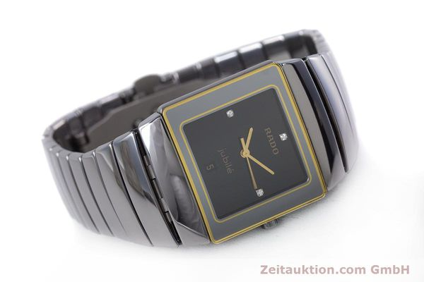Used luxury watch Rado Diastar ceramic quartz Kal. ETA 256.111 Ref. 152.0332.3  | 153037 03