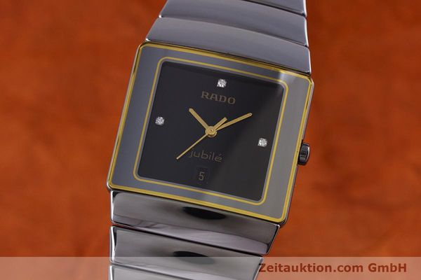 Used luxury watch Rado Diastar ceramic quartz Kal. ETA 256.111 Ref. 152.0332.3  | 153037 04